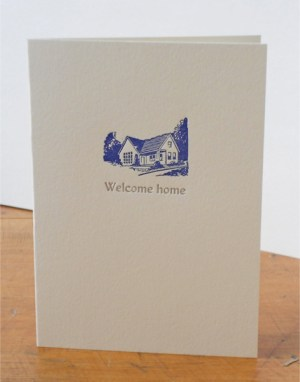 Welcome Home 300x382 Stationery A – Z: New Home Congratulations Cards