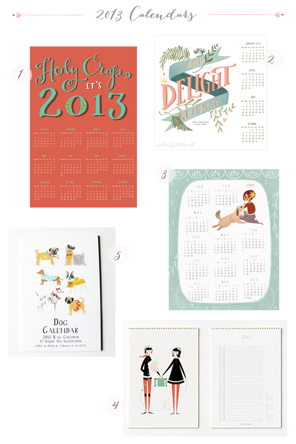 2013 Calendars Part8 Seasonal Stationery: 2013 Calendars, Part 6