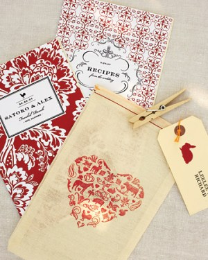 Silkscreened Animal Favor Bags Karol Doi Design 300x375 Wedding Stationery Inspiration: Animal Motifs
