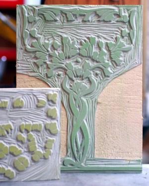 Art Nouveau Letterpress Wedding Invitations Starshaped7 300x374 Sarvenaz + Graigs Art Nouveau Wedding Invitations