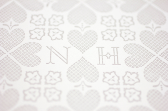 Heart Wedding Motif Mae Mae Paperie 550x366 Wedding Stationery Inspiration: Hearts