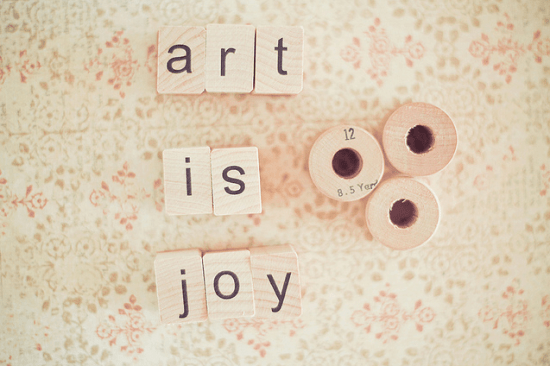 JoyHey Art Is Love 550x366 {happy weekend!}