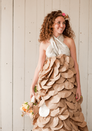 Paper Dress Photoshoot Paper Posey Designs3 300x427 Paper Dress Inspiration from Paper Posy Designs