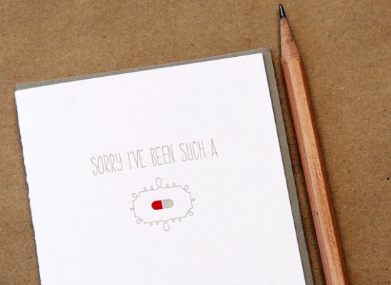 Wild Ink Press Sorry Card 550x401 Stationery A – Z: Apology Cards