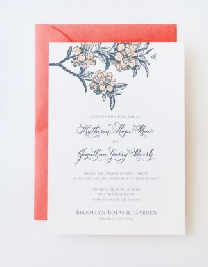 Antiquaria Letterpress Wedding Invitation Collection18 300x384 Antiquaria Letterpress Wedding Invitation Collection