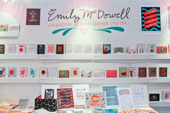 National Stationery Show 2013 Oh So Beautiful Paper Igloo Letterpress Emily McDowell 18 550x366 National Stationery Show 2013, Part 8