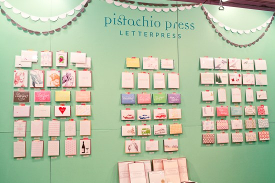 National Stationery Show 2013 Oh So Beautiful Paper Pistachio Press 1 550x366 National Stationery Show 2013, Part 7