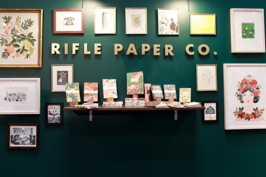 National Stationery Show 2013 Oh So Beautiful Paper Rifle Paper Co 3 550x366 National Stationery Show 2013, Part 5