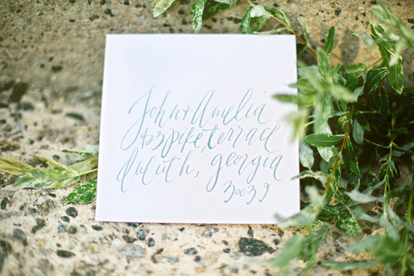 BL calligraphy5 Calligraphy Inspiration: Brown Linen
