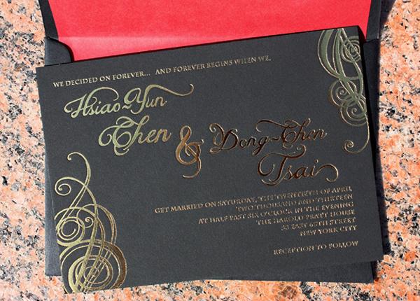 Game of Thrones Wedding Invitations PostScript Brooklyn4 Tony + Hsiaos Game of Thrones Wedding Invitations