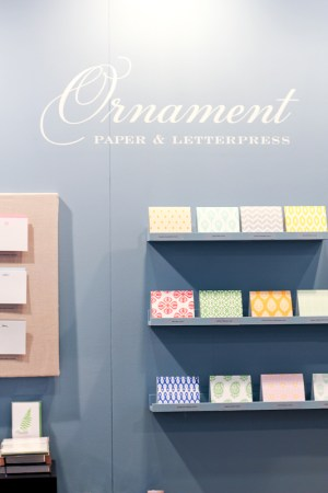 National Stationery Show 2013 Oh So Beautiful Paper Ornamental Letterpress 22 300x450 National Stationery Show 2013, Part 13