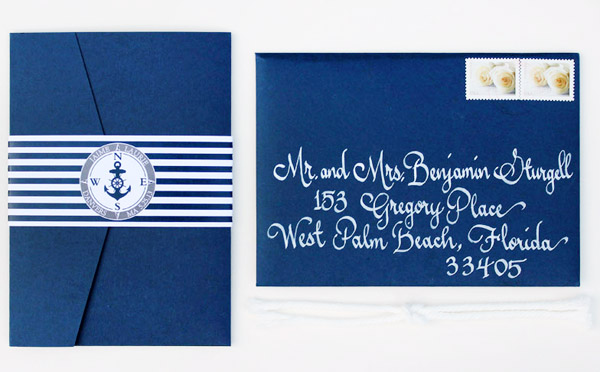 Nautical Anchor Wedding Invitaitons Chirp Paperie4 Laurie + Jaimes Nautical Wedding Invitations