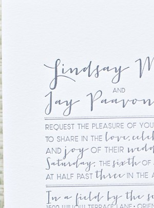 Whimsical Outdoor Wedding Invitations Suite Paperie4 300x405 Lindsay + Jays Whimsical Nature Inspired Wedding Invitations