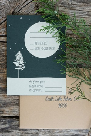 Woodsy Lodge Wedding Invitations Sarah Jane Winter6 300x449 Claire + Johns Woodsy Lodge Wedding Invitations