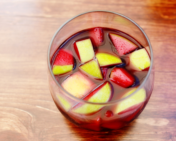 Signature Cocktail OSBP Summer Stone Fruit Sangria 2 Friday Happy Hour: Summer Stone Fruit Sangria