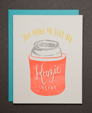 koozie grande 300x370 Bid adieu to Ladyfingers Letterpress with a Stationery Giveaway!