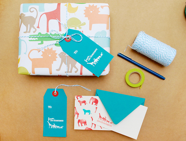 DIY Rubber Stamp Kids Stationery Antiquaria Oh So Beautiful Paper5 DIY Tutorial: Rubber Stamp Kids Animal Stationery
