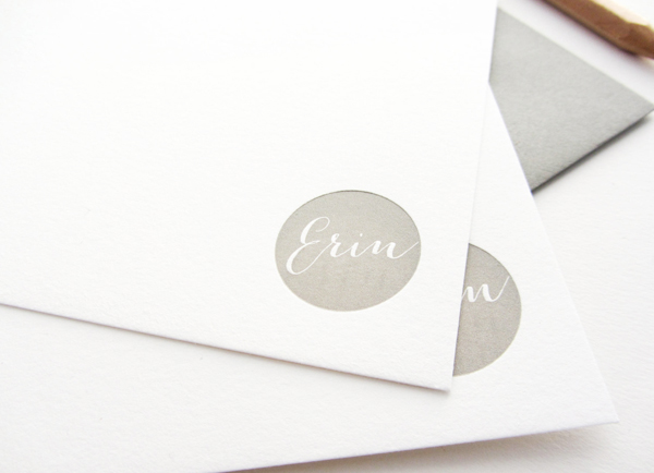 Personalized Letterpress Stationery Dahlia Press4 Quick Pick: Dahlia Press