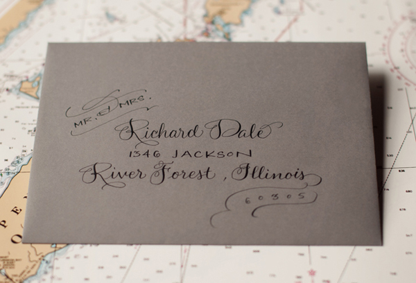 Travel Inspired Letterpress Wedding Invitations Sarah Drake4 Kate + Conors Travel Inspired Letterpress Wedding Invitations
