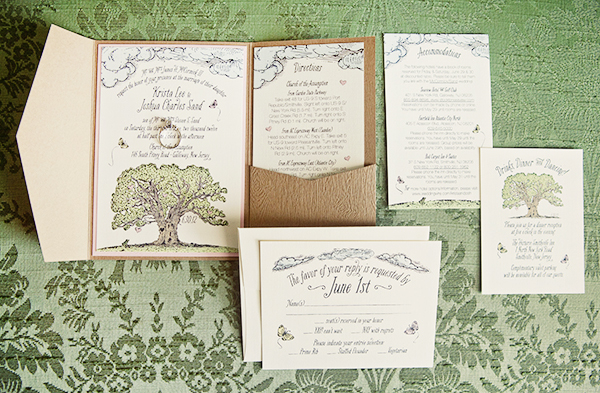 Woodland Fairy Tale Wedding Invitations Kake Stationery Krista + Joshs Whimsical Woodland Wedding Invitations