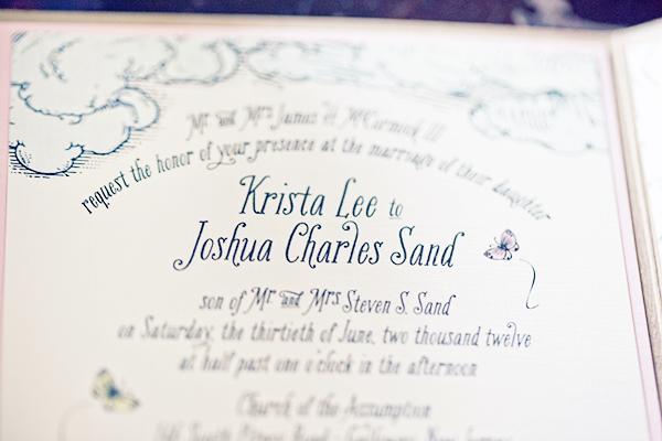 Woodland Fairy Tale Wedding Invitations Kake Stationery4 Krista + Joshs Whimsical Woodland Wedding Invitations