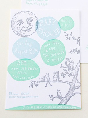 Woodland Letterpress Baby Shower Invitations Shipwright Co5 Jessie + Spencers Storybook Inspired Baby Shower Invitations