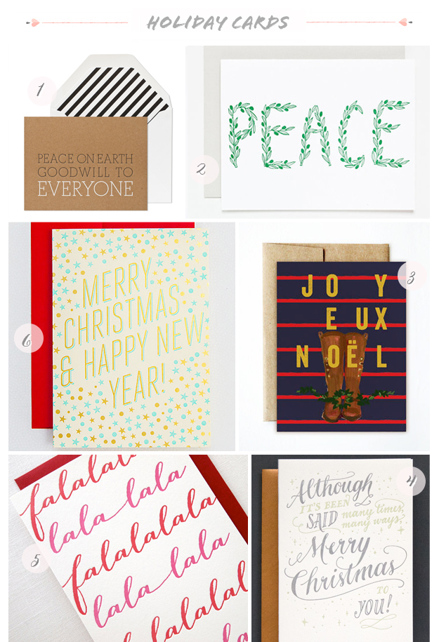 2013 Holiday Cards Part31 Seasonal Stationery: 2013 Holiday Cards, Part 2