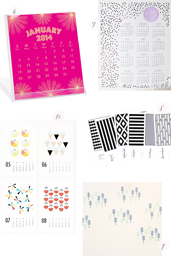 2014 Calendars Part7 Seasonal Stationery: 2014 Calendars, Part 5