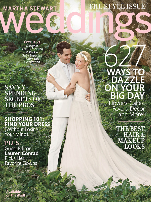 Martha Stewart Weddings Cover Fall 2013 Sneak Peek: Martha Stewart Real Weddings Special Issue