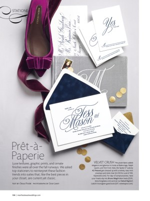 Sneak Peek MSW Fall 2013 Issue 300x401 Sneak Peek: Martha Stewart Real Weddings Special Issue