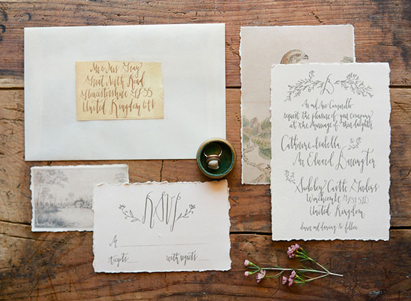 1 SEM LauraCatherinePhotography Calligraphy Inspiration: Signora e Mare