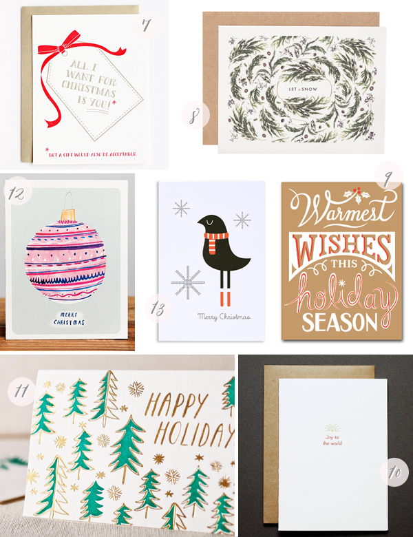 2013 Holiday Cards Part8 Seasonal Stationery: 2013 Holiday Cards, Part 4