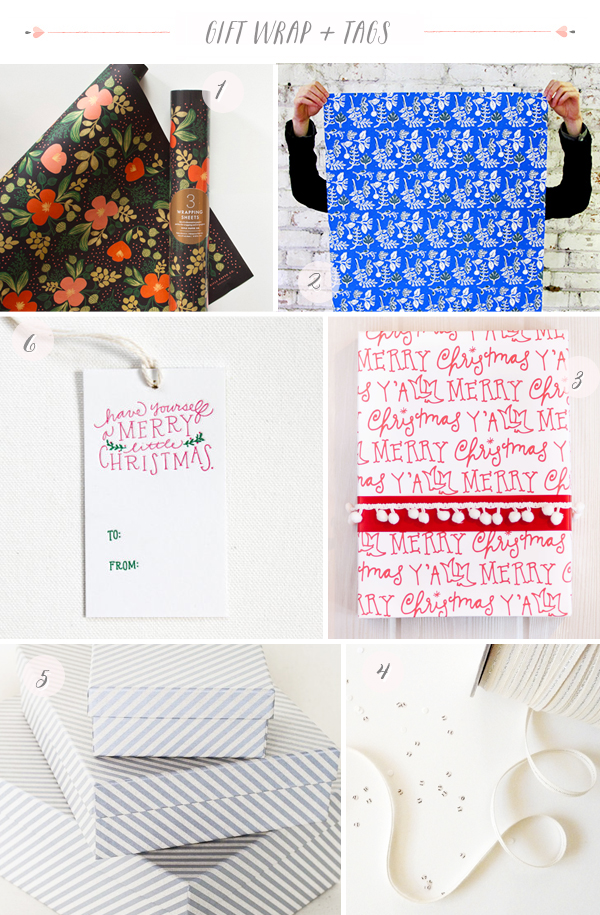 2013 Holiday Gift Wrap Part1 Seasonal Stationery: Holiday Gift Wrap + Tags