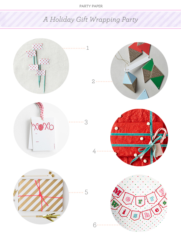 A Holiday Gift Wrapping Party Party Paper Party Paper: A Holiday Gift Wrapping Party