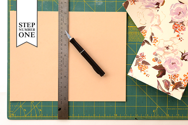 Journal Step1 2 DIY Tutorial: Handmade Patterned Notebooks