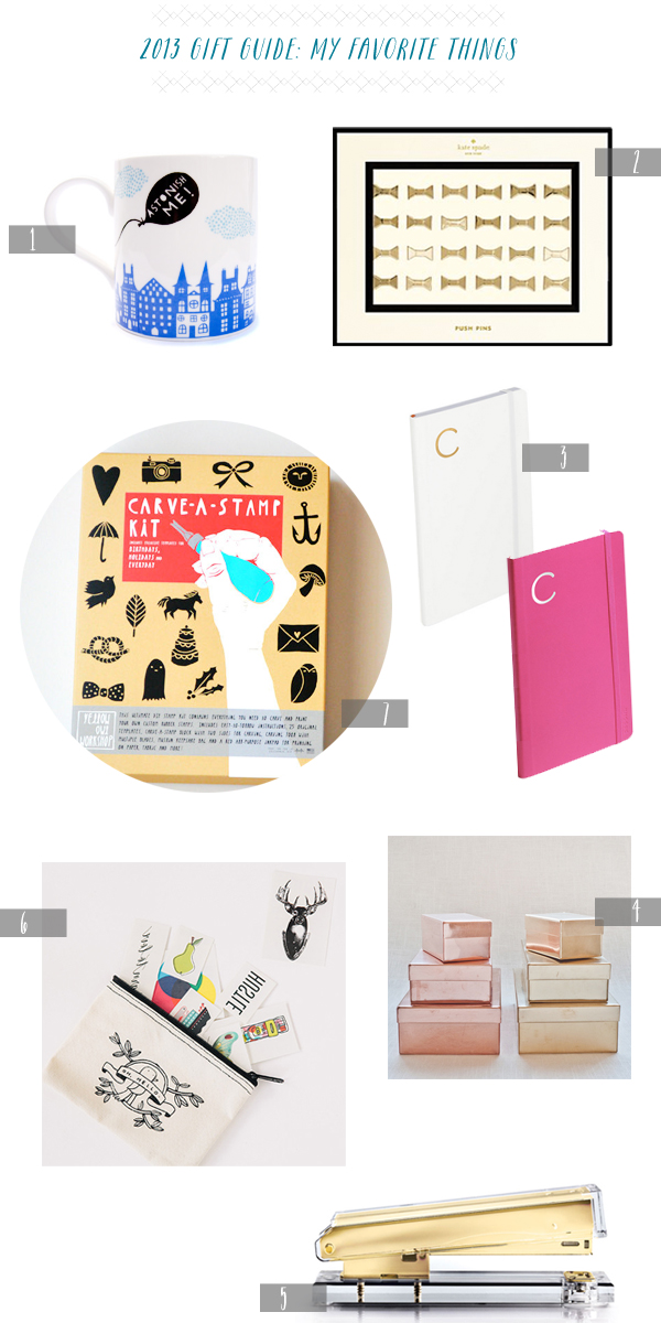 OSBP 2013 Gift Guide My Favorite Things 2013 Gift Guide: My Favorite Things
