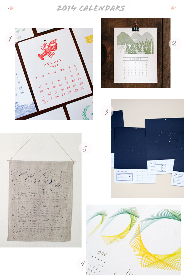 2014 Calendars Part8 Seasonal Stationery: 2014 Calendars, Part 6