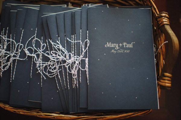 Constellation Wedding Program Mary Rosamond Paper Antler Wedding Stationery Inspiration: Constellations