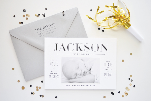 Best of 2014 Baby Announcements + Shower Invitations