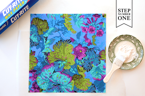 DIY Tutorial: Tropical Invitation Suite + Fabric Envelope