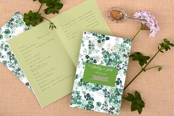 Env Program FINAL DIY Tutorial: Seed Packet Wedding Ceremony Program