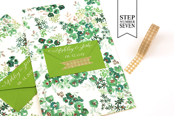 Env Program Step7 DIY Tutorial: Seed Packet Wedding Ceremony Program