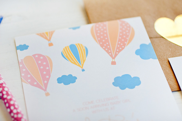Hot Air Balloon Baby Shower Invitations Anastasia Marie2 Hot Air Balloon Baby Shower Invitations