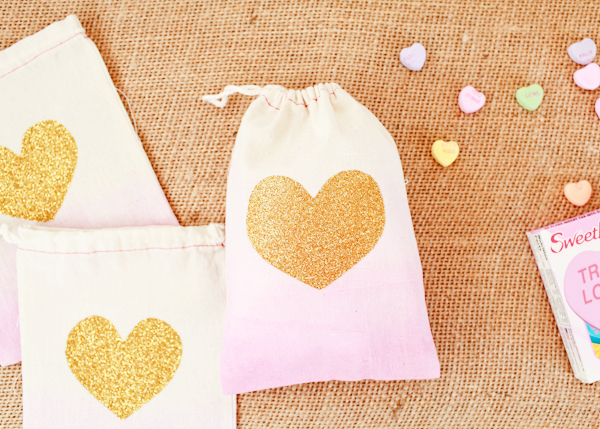 OSBP DIY Tutorial Dip Dye Heart Bags 40 DIY Tutorial: Dip Dye Heart Favor Bags