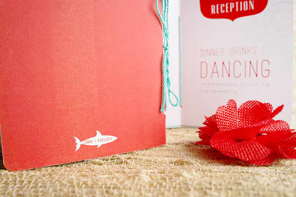 Red Aqua Passport Destination Wedding Invitations Two if by Sea Studios5 Chelsea + Johns Colorful Passport Wedding Invitations