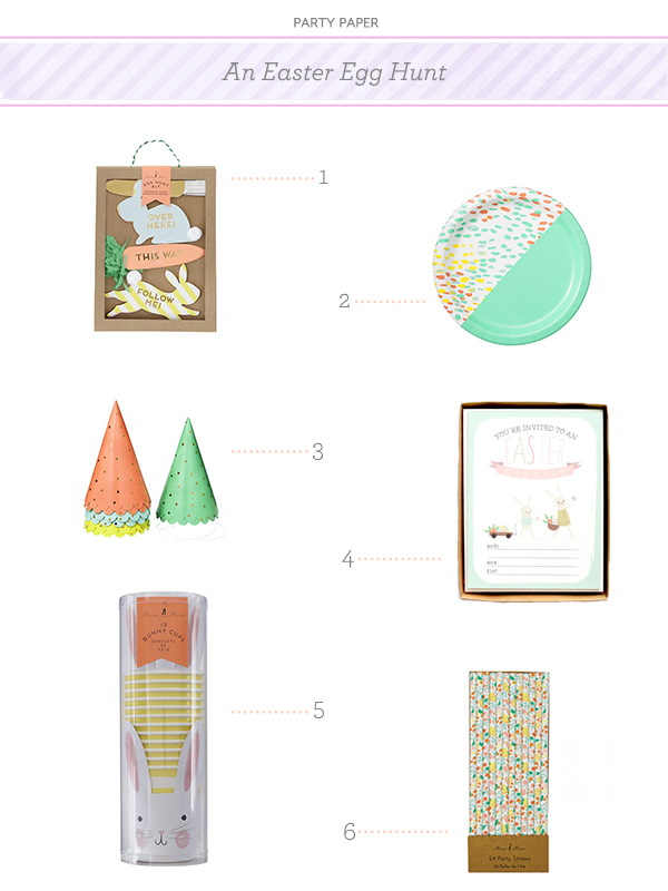 Easter Egg Hunt Party Paper1 Party Paper: An Easter Egg Hunt