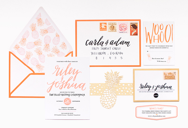 Preppy Palm Beach Wedding Invitations Coral Pheasant Preppy Palm Beach Wedding Stationery Inspiration