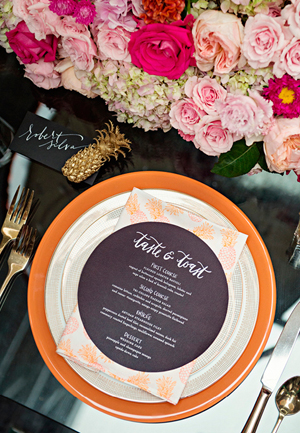 Preppy Palm Beach Wedding Invitations Coral Pheasant13 Preppy Palm Beach Wedding Stationery Inspiration