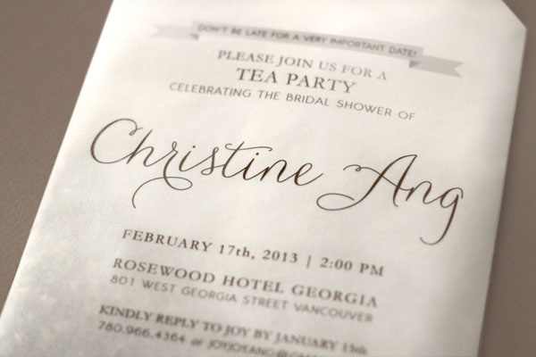 Tea Bag Bridal Shower Invitation Joy Ang2 Joys DIY Tea Bag Bridal Shower Invitations