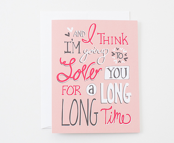 la La Grace Greeting Cards Love Quick Pick: la La Grace